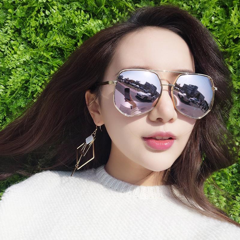 孙红雷同款2017粉色太阳镜男士女潮圆脸偏光眼镜近视开车大框墨镜