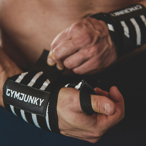 Cơ bắp Tập Thể Dục Bracers Nam Đàn Hồi Bandage Strength Đào Tạo Cổ Tay Mắt Cá Chân Chống Tunsion Dài Áp Lực Thể Thao Đồ Bảo Hộ