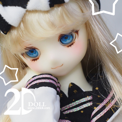 taobao agent BJD doll 2ddoll 4 points size Cai Cai spherical joint doll SD similar