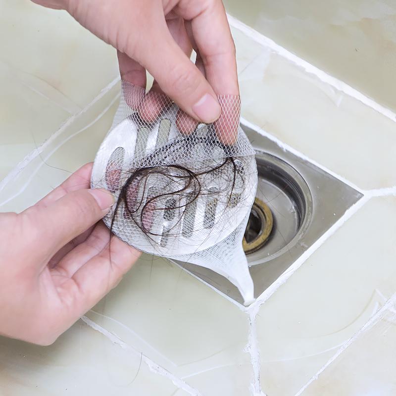 卫浴地漏过滤网浴室卫生间防头发贴