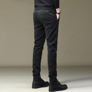 秋冬季男士休闲裤2020新款潮流百搭加绒加厚羊羔绒长裤保暖外穿
