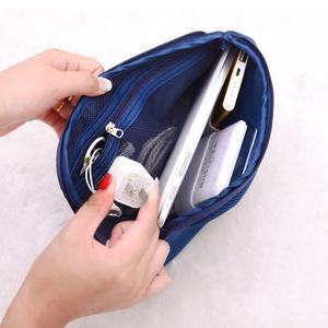 Lưới chống sốc lưu trữ kỹ thuật số túi du lịch sạc kho báu di động ổ cứng dòng dữ liệu điện thoại di động sạc hoàn thiện túi vải