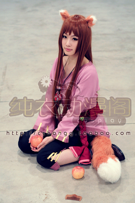 taobao agent Wangchuan Jingjia New Custom-made Wolf and Spices Xian Wolf COS Cute Wolf He Luo cosplay