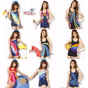 Phiên bản Hàn Quốc của bộ đồ bơi nữ thời trang áo tắm mới Pingyao Xiêm mỏng bảo thủ Shumeizi phiên bản hoa mùa xuân nóng bỏng