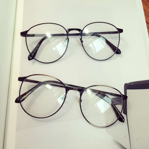 Đường đánh bại cá tính chống ánh sáng màu xanh bức xạ kính retro kính khung nữ với quang cận thị mắt nam