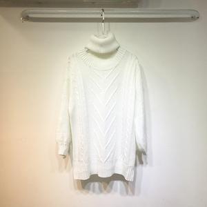 F378#软妹毛衣女韩版宽松外穿套头日系粗毛线可爱外套中长款
