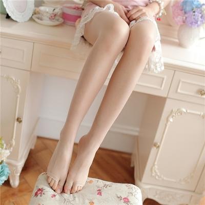 夏季鱼嘴丝袜打底连裤袜性感超薄透明显瘦露趾袜子漏指袜女防勾丝