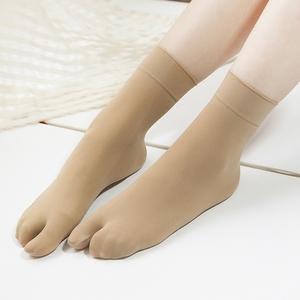 5 đôi vớ ngón chân vớ vớ hai ngón tay vớ mùa hè vớ mỏng cao su điểm hai vớ chân xương cá vớ 屐 2 ngón tay vớ
