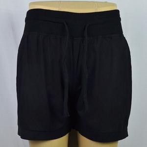 Mùa hè phụ nữ quần short quần năm quần quần nóng là mỏng cao eo tie hoang dã đàn hồi eo lỏng kích thước lớn chất béo mm