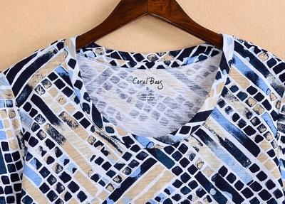 Mùa hè mới 40-year-old fat mm200 kg cotton kích thước lớn trung niên nữ t-shirt mẹ nạp giải phóng mặt bằng chế biến một gói Quần áo của mẹ