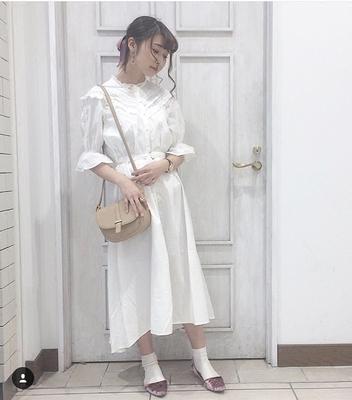 N + 18 mùa hè mới ngọt ngào Nhật Bản ren cạnh nấm nối dài vành đai đầm OP Sản phẩm HOT
