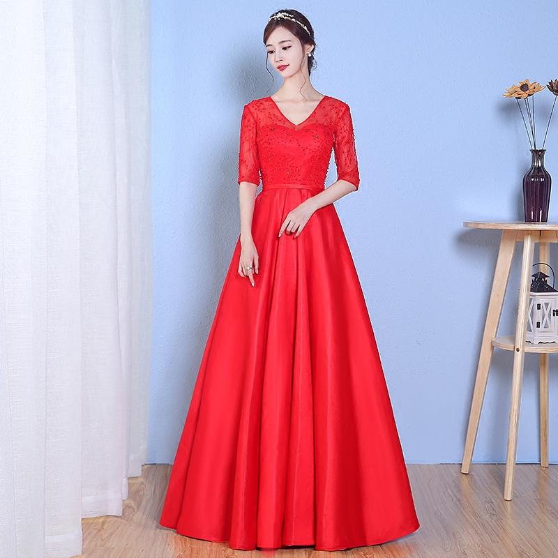 红色礼服 - 1505147909 - 太阳的博客