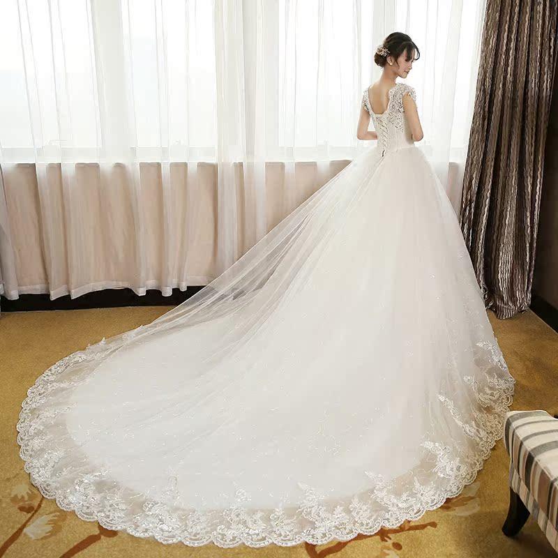 拖尾齐地婚纱礼服 - 1505147909 - 太阳的博客