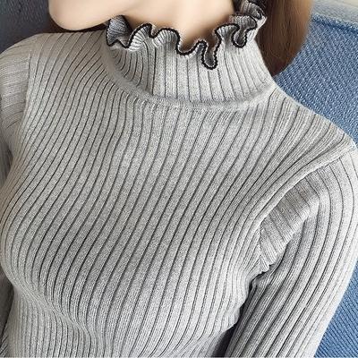 高领羊毛衫套头精选