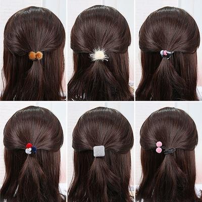 韩国发绳小清新森女系头饰可爱扎头发橡皮筋头绳发圈成人简约个性