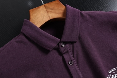 Trong nước duy nhất cắt tiêu chuẩn kinh doanh bình thường của nam giới ve áo POLO áo sơ mi ngắn tay mùa hè thời trang cha mặc T-Shirt t-shirt áo phông nam có cổ Polo